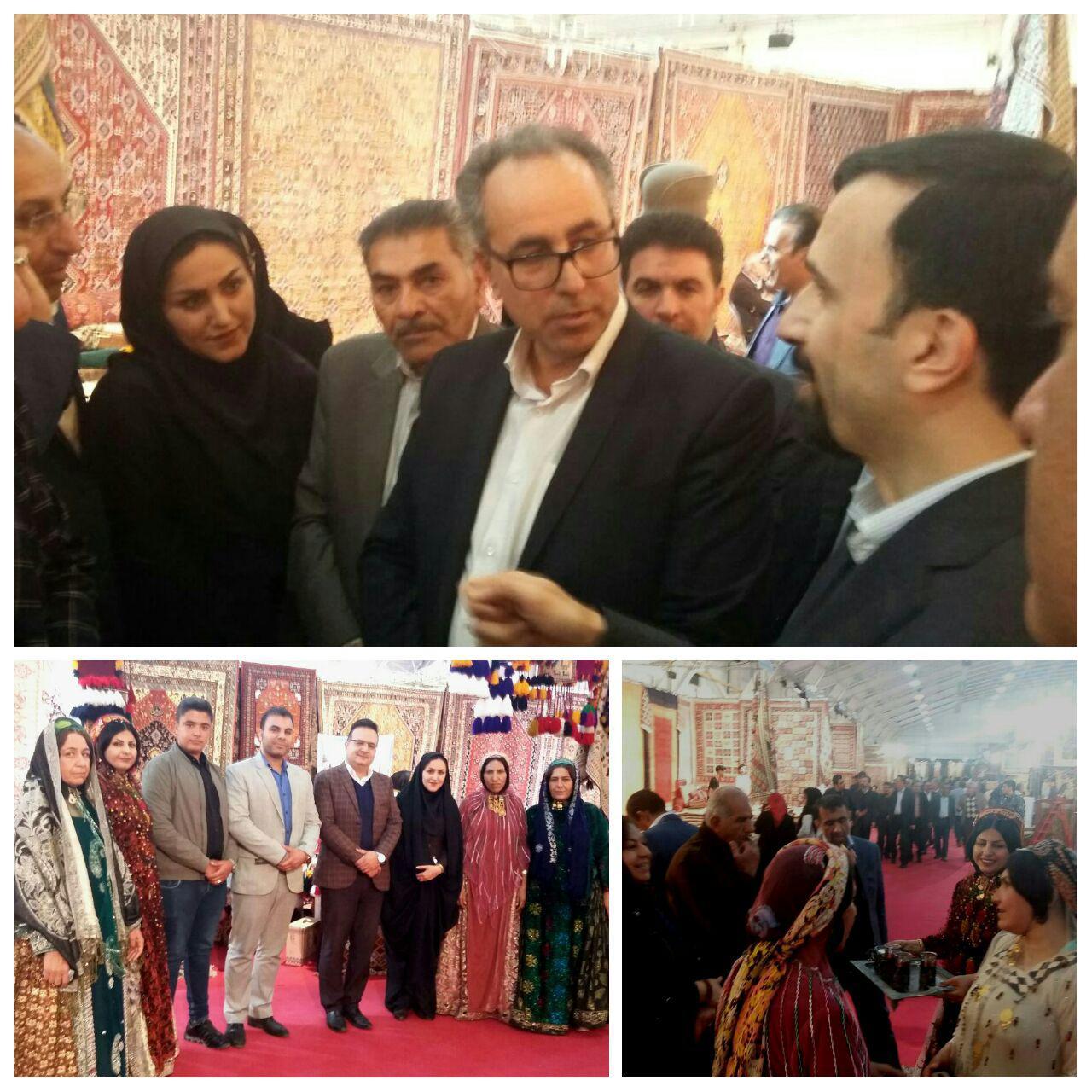 گزارش تصویری نمایشگاه فرش فارس